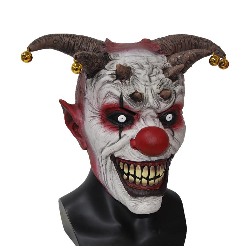 Jingle Jangle Clown Horror Scary Mask Scary Halloween Clown Masks